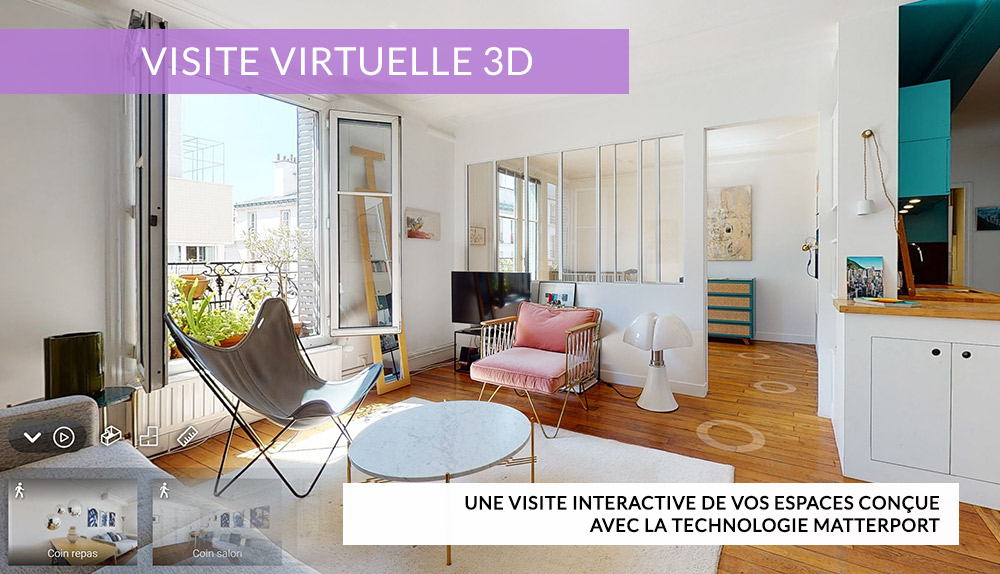 Home in Box |Visite Virtuelle | Matterport